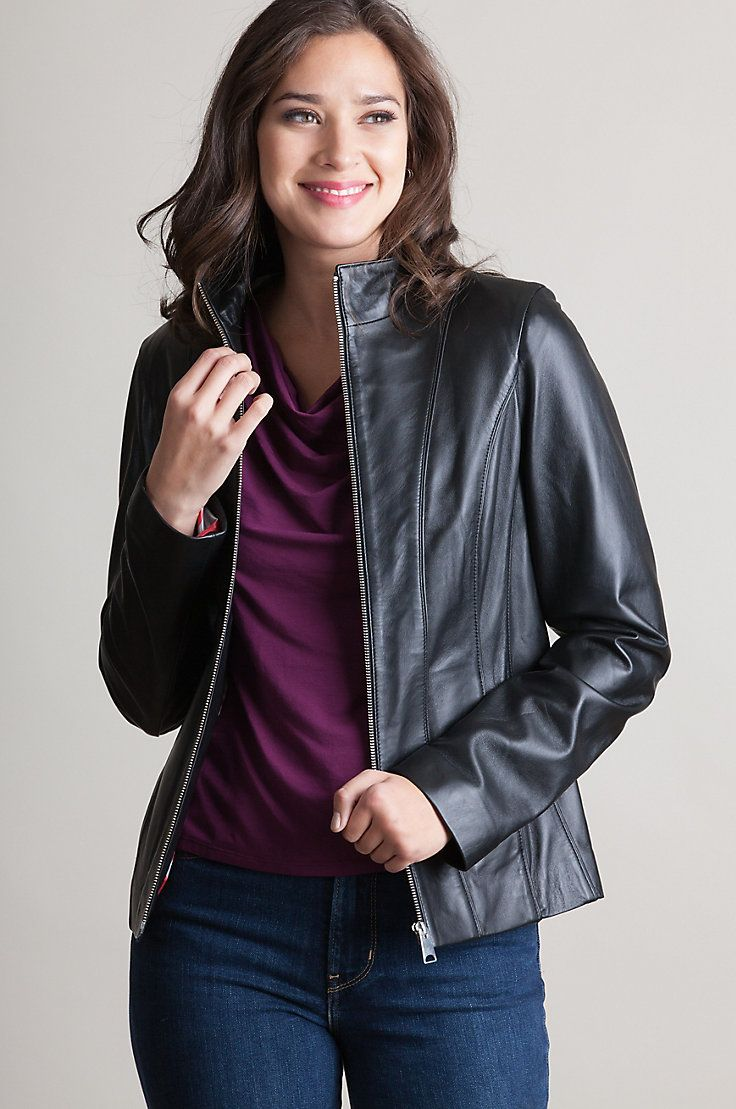 Kirsty Lambskin Leather Jacket AUD226 Free shipping all
