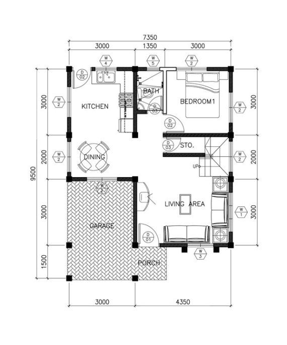 Sarah Dramatic Open To Below Two Storey House Pinoy Eplans Two Storey House Two Storey House Plans Two Story House Plans