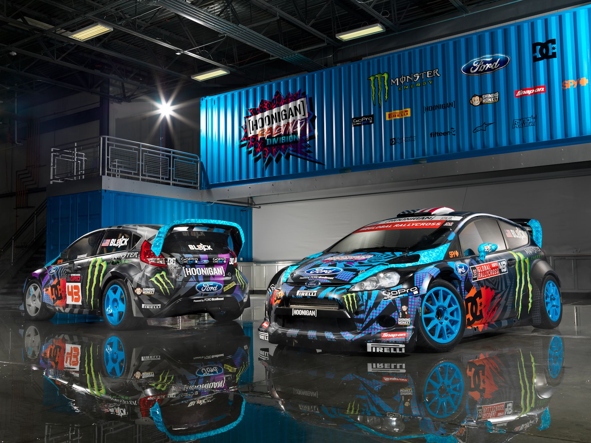 Fiesta Hoonigan St Ford Fiesta St Ken Block Ford Racing