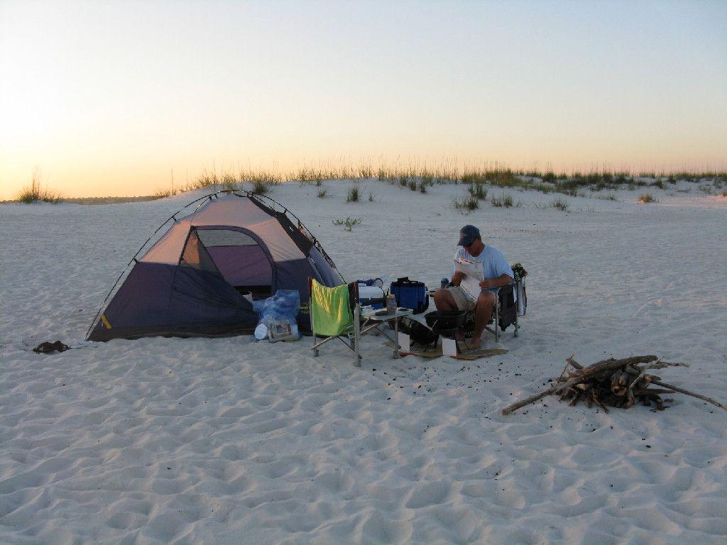 Great Beach Camping Trip At Perdido Key Gear