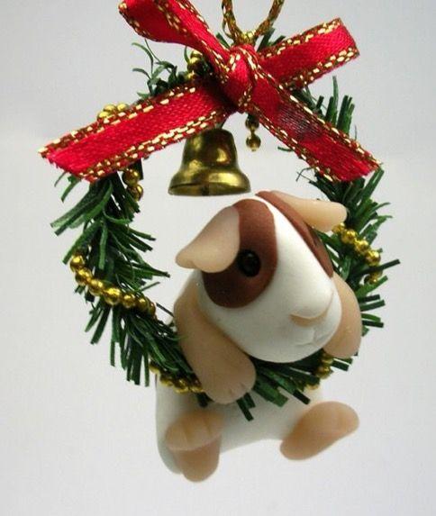 Guinea Pig Christmas ornament - Guinea Pig Christmas Ornament Piggies Guinea Pigs, Christmas