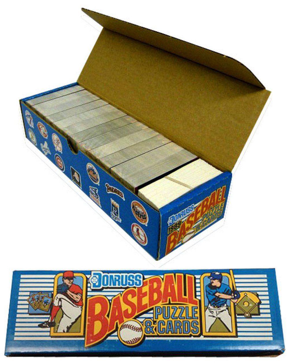 1989 donruss baseball factory set baseball factory