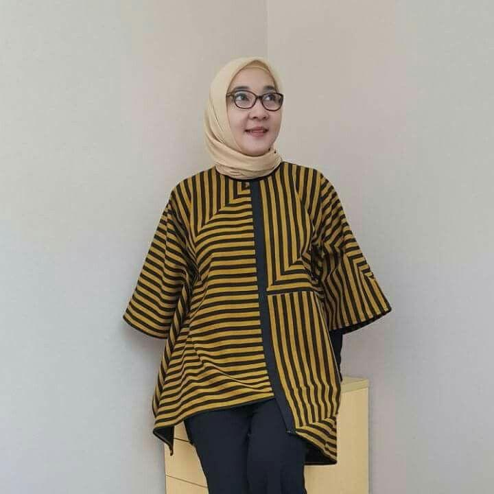 I Ll Try To My Lurik Etnica Batik Fashion Blouse Batik Model
