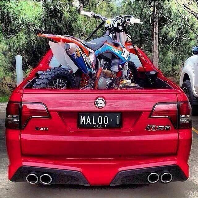 Robbie Maddison S Set Up Maloo Dirtbike Australian Cars