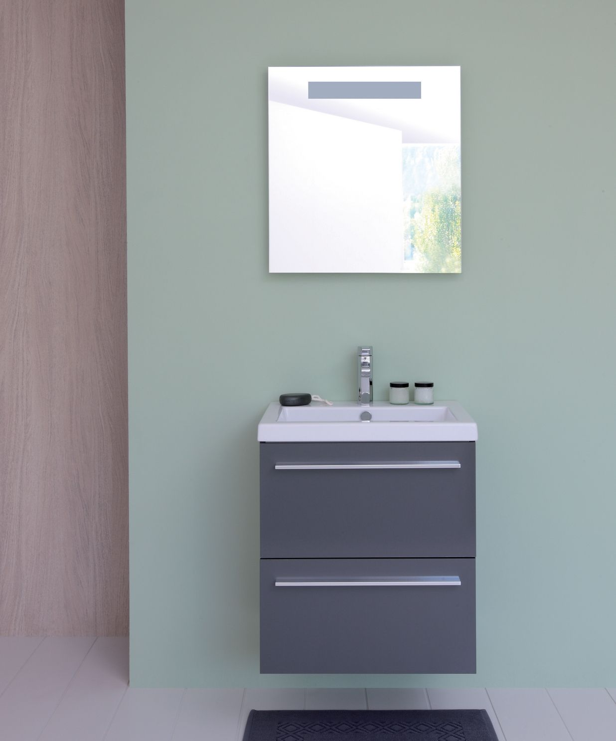 Meuble Salle De Bain Sanijura Xs ~ meuble vasque salle de bain gris laqu sanijura http www deco et