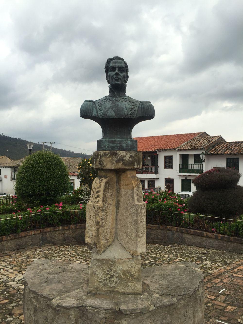 Homenaje Al Libertador Sim N Bol Var Mongu Boyac Colombia  # Muebles Rusticos Duitama Boyaca