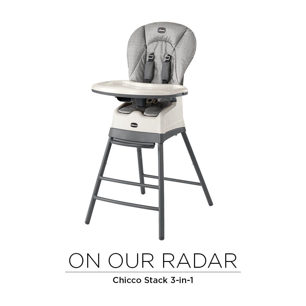 One Chair Three Seats The Chiccousa Stack 3 In 1 Multichair Brings Your Little One To The Table And Features An Easy Cle With Images High Chair Seat Pads Simple Storage