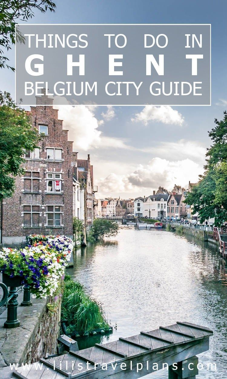 what to do in ghent belgium
