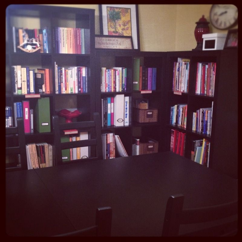 Homeschool/Dining Room/Study Makeover Complete! JP IKEA