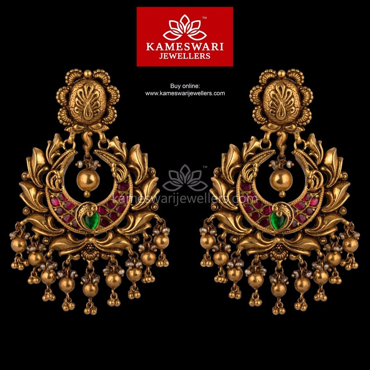 6a0d2f136d6b12 Heritage Balis in 2019 | Gold collection | Gold earrings designs ...