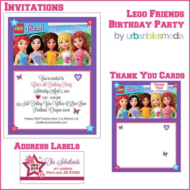 Party bliss lego friends birthday party lego friends birthday party bliss lego friends birthday party urban bliss life stopboris Choice Image