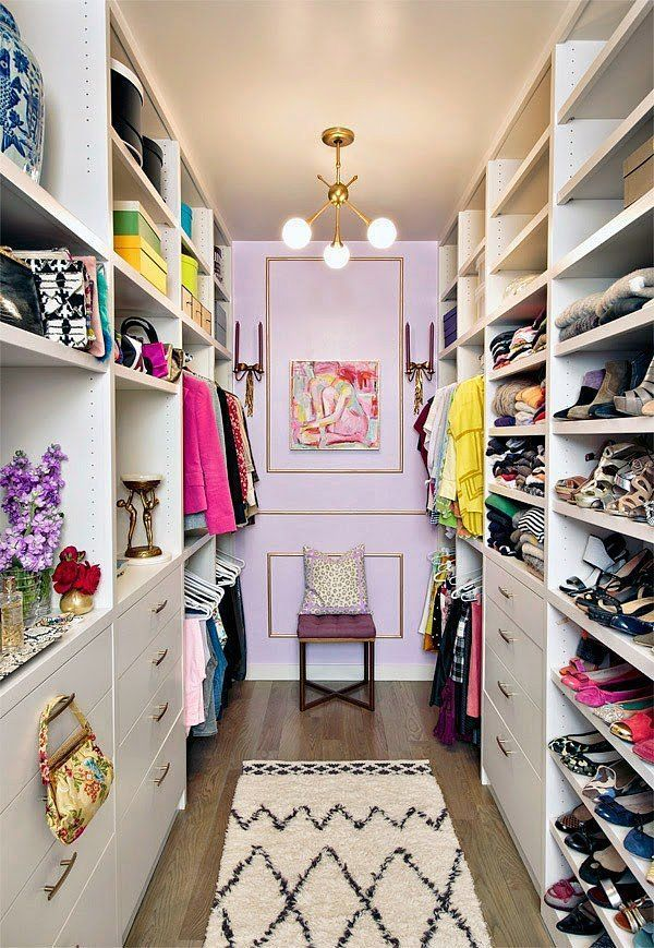 Beau Glamorous Walk In Closet Organization Ideas With Nice Lighting
