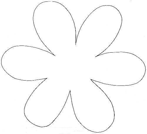 Про, форма цветка для открытки
