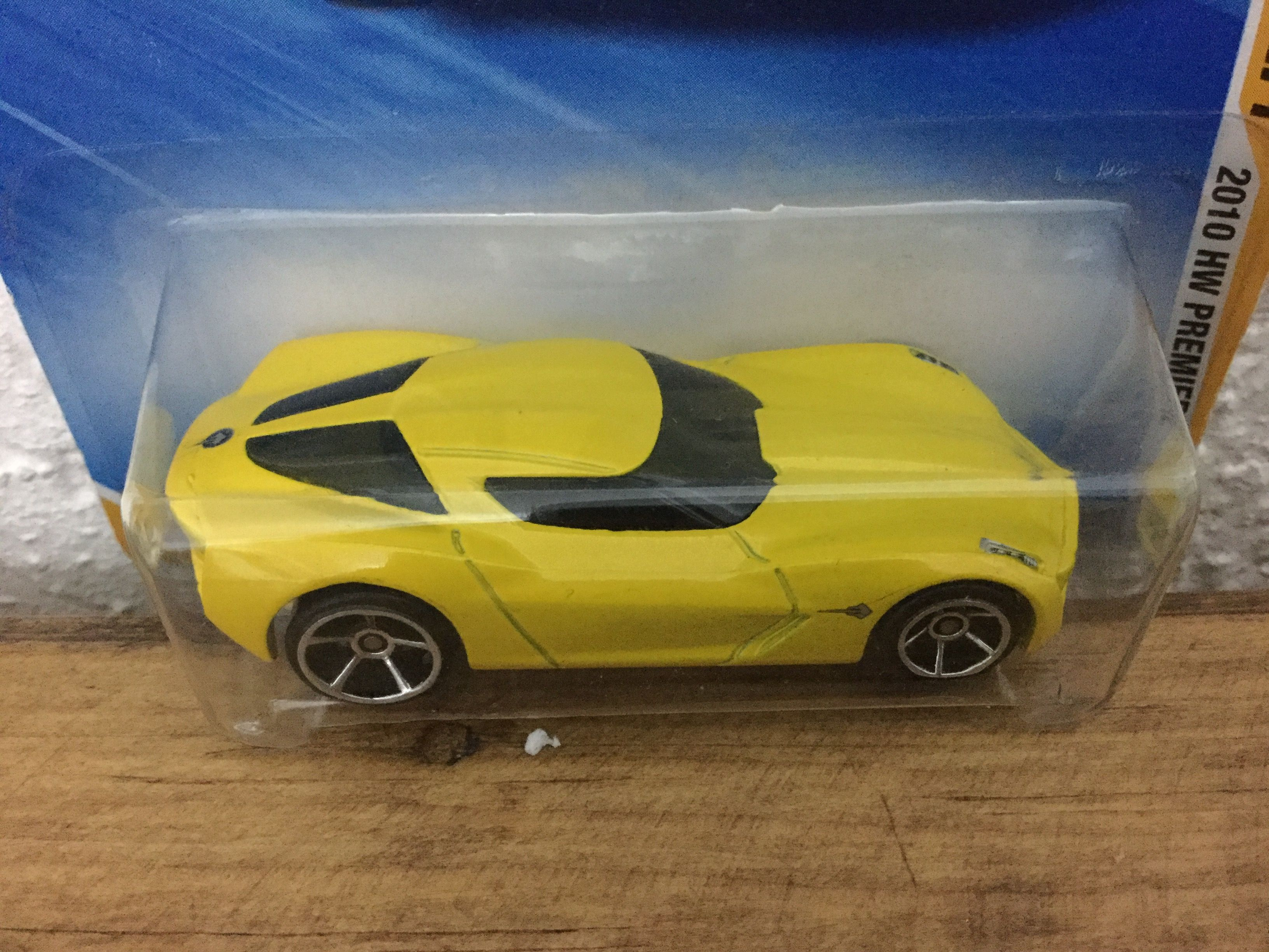 Hot Wheels - 09 Corvette Stingray Concept