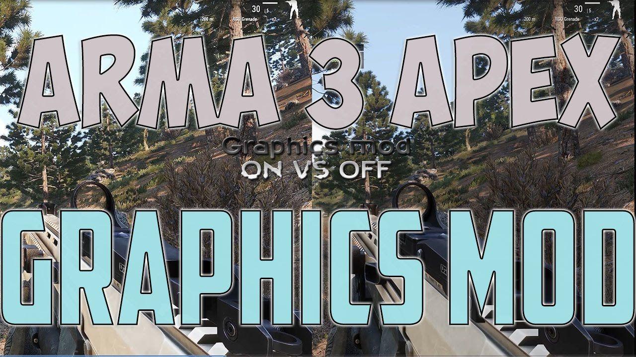 Arma 3 Apex - Ultra crisp and sharp realistic Graphics mod - SweetFX