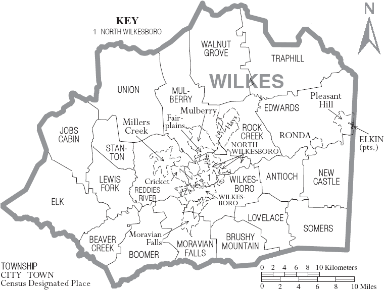 Map of Wilkes County North Carolina With Munil and ... Map Key Wikipedia on 9gag map, language map, the republic of molossia map, freedom house map, encarta map, fusion tables map, global security map, streetview map, tanzania tourism map, 1964 electoral college map, hopkins medicine map, it network map, pirate bay map, bible places map, kansas cemeteries map, spaceport america map, hispanic latino map, the principality of sealand map, smithsonian institute map, icao airport codes map,