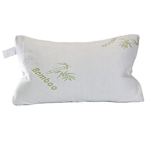 Shredded Memory Foam Pillow With Bamboo Cover Coop Home Goods
