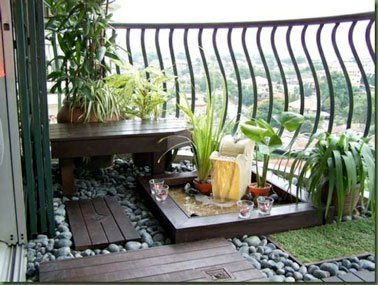 amnager un coin de jardin zen sur le balcon - Amenager Un Coin Zen Dans Le Jardin