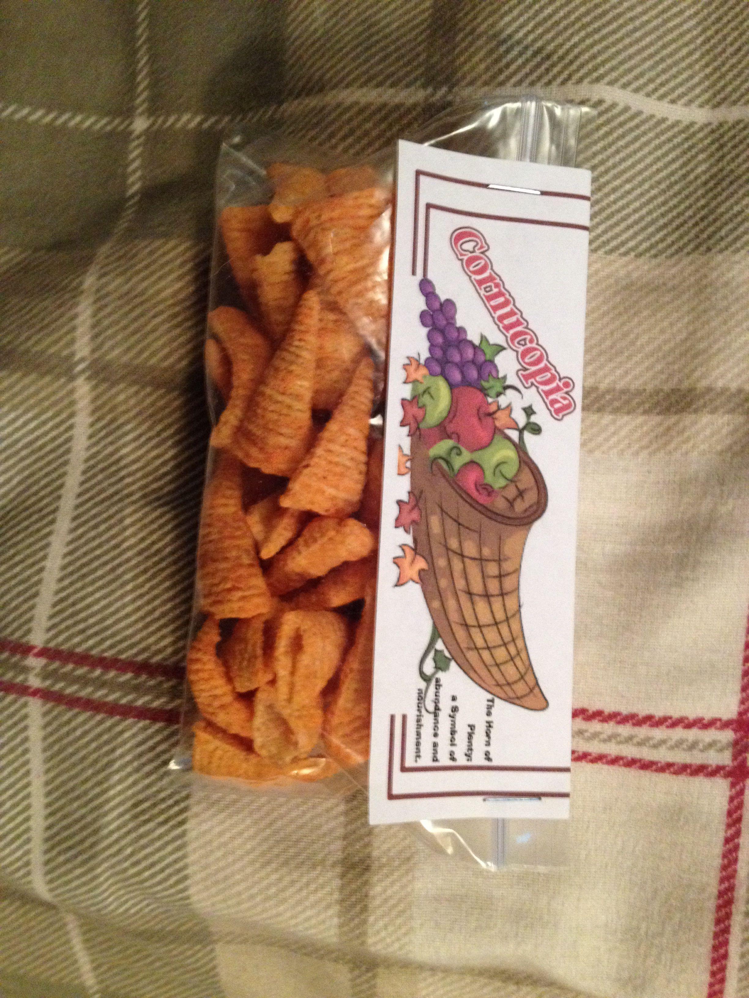 Cornucopia for thanksgiving bugles