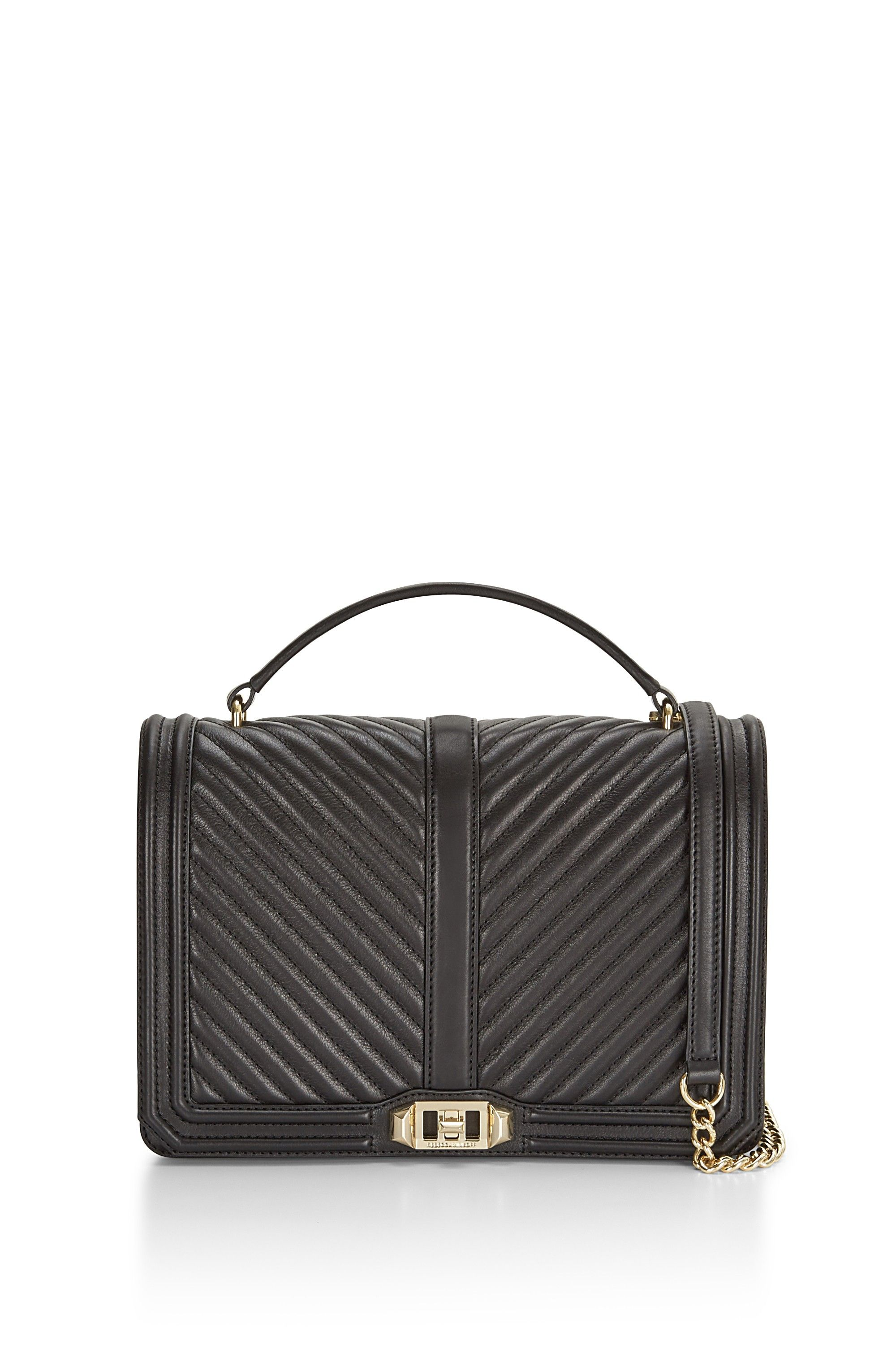 0e36a04b3 Chevron Quilted Jumbo Love Crossbody With Top Handle - Meet your new  going-out bag. Featuring eye catching hardware, the Love Crossbody is a  match made in ...