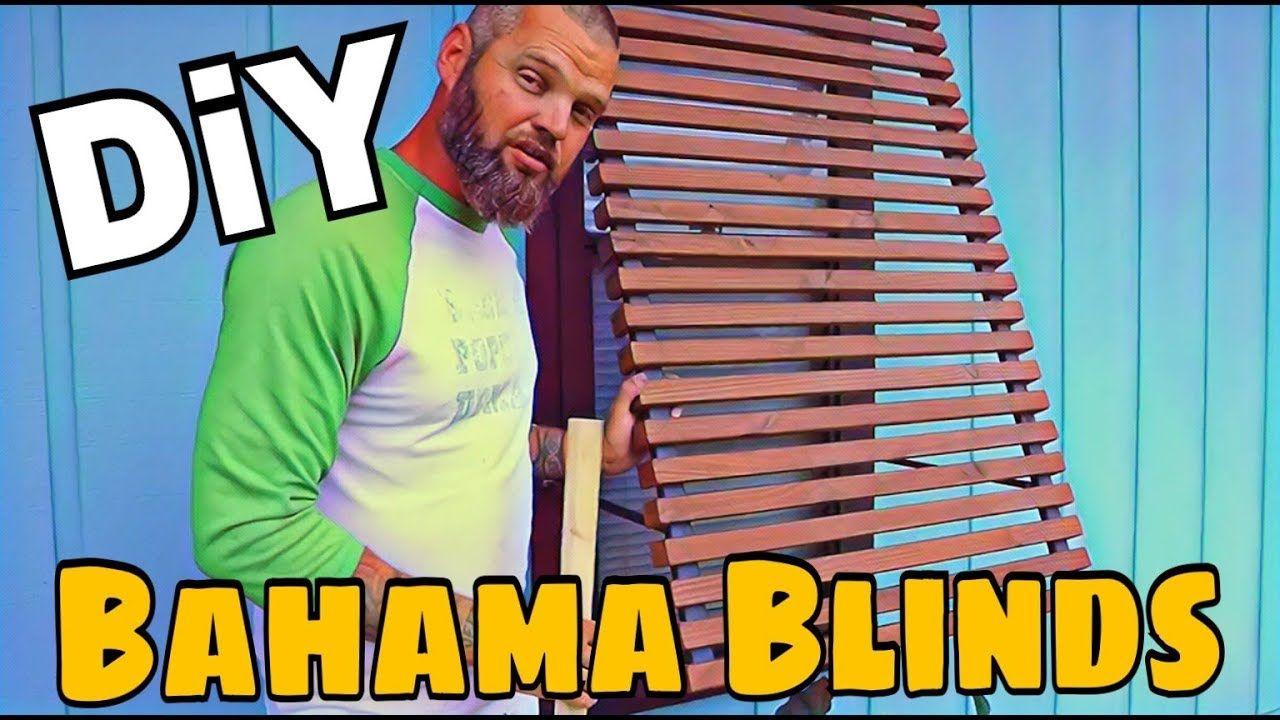 DIY Bahama Blinds / Rain Screens Bahama shutters, Diy
