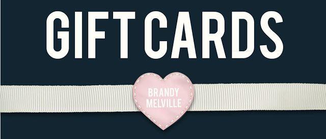 Brandy melville gavekort