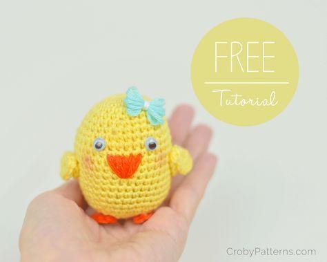 Amigurumi Bird Tutorial : Amigurumi bird free english pattern and video tutorial here
