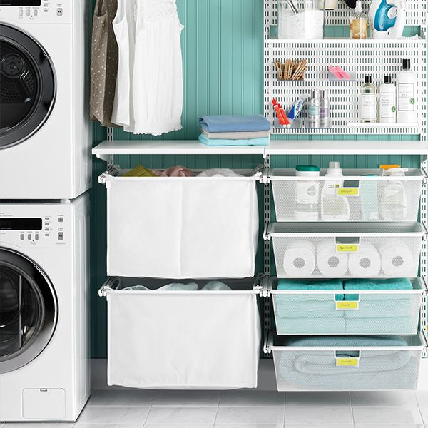 Laundry Container Store Boxes For Everything Laundry Room