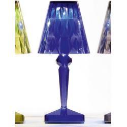 Photo of Kartell Led table spot battery blue, designer Ferruccio Lavi …