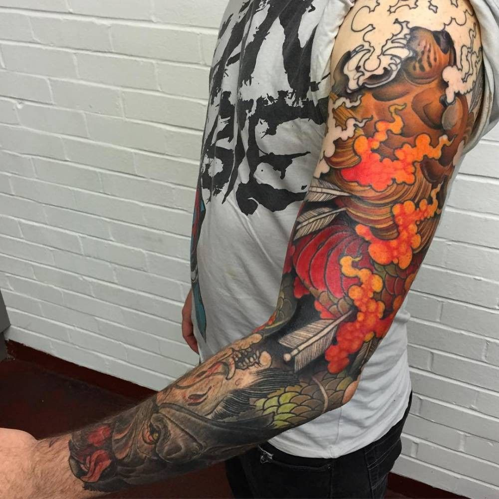 Remarkable Sleeve Tattoos That Are Prettier Than Clothing Cool Tattoos For Guys Sleeve Tattoos Tattoos For Guys