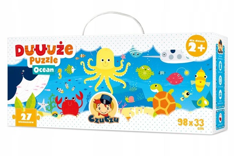 Czuczu Duuuze Puzzle 27 Elementow Ocean Puzzle Ocean Mapy Swiata