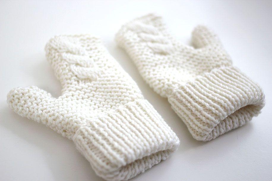 DIY Cómo hacer guantes para niños (patrones gratis) | Lanas ...