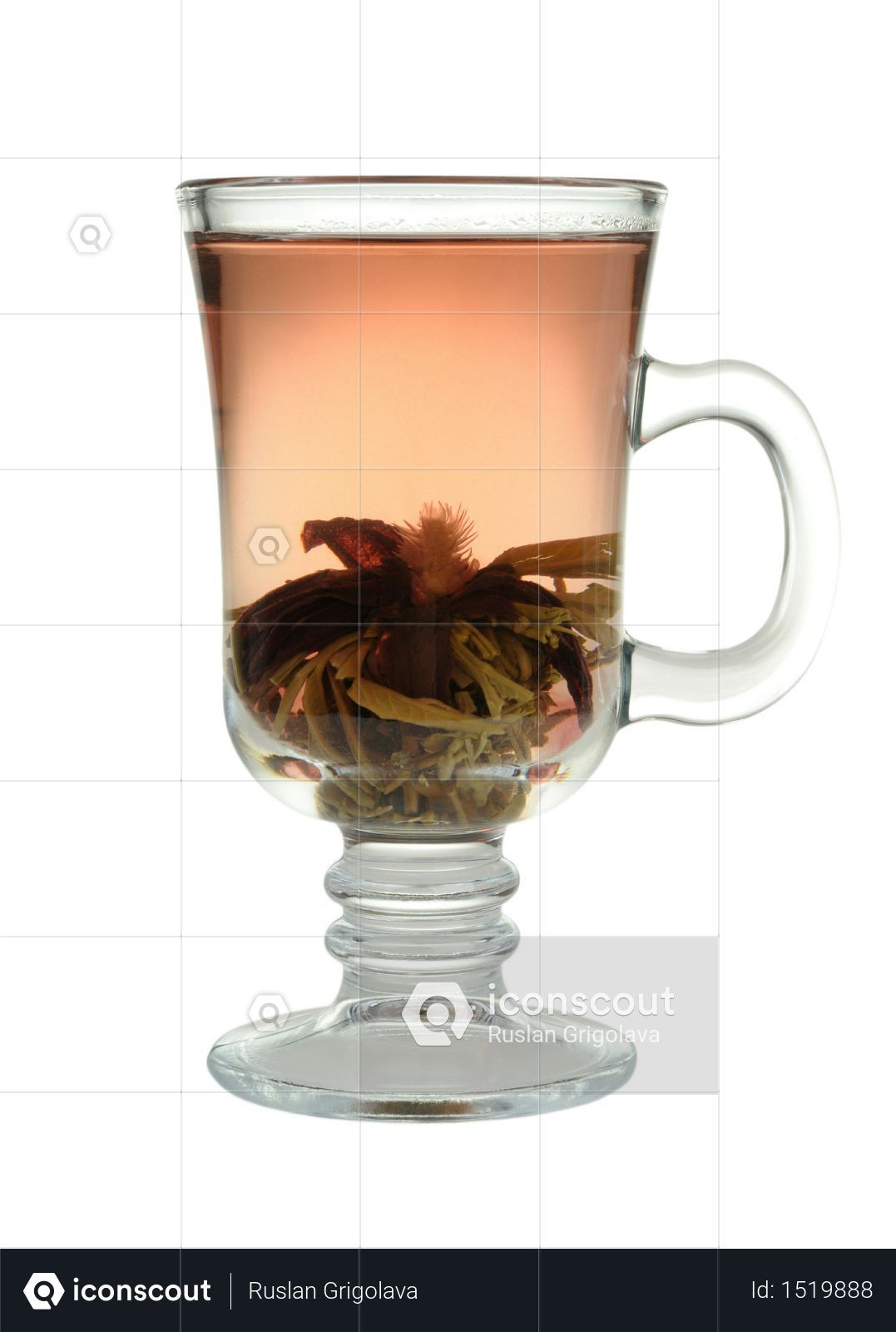Premium Green Tea In A Cup Isolated On White Background Photo Download In Png Jpg Format Premium Green Tea Green Tea White Background Photo