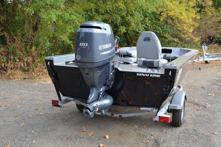 River Boat | River Hawk Boats Kenai Series with Yamaha Outboard