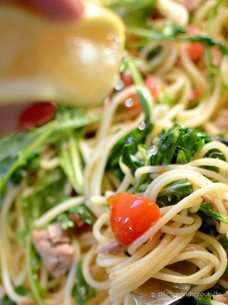 Simple Tuna Pasta Nach Jamie Oliver Rezept Nudelgerichte