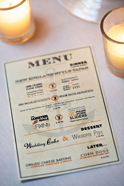 Love the look of this menu (and the food that's on it!) {LoveDays Photography}
