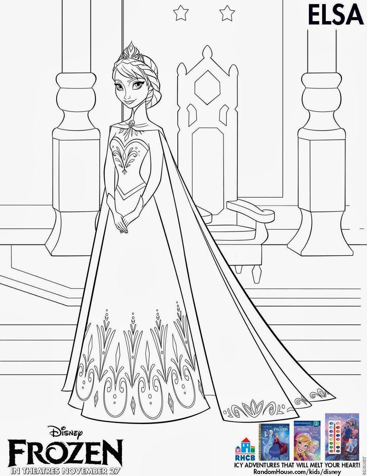 Princess Ana Line Drawing Frozen Uma Aventura Congelante Lindos