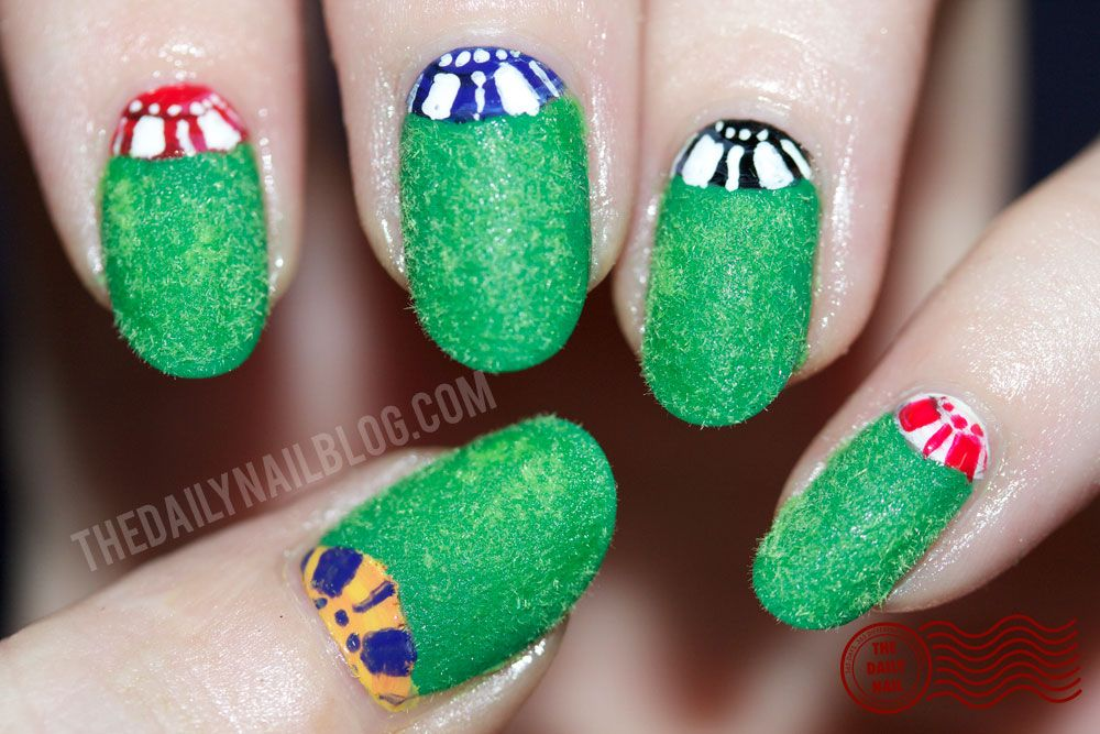 The Daily Nail: Wherever the Chips May Fall | Nail Art that I like ...