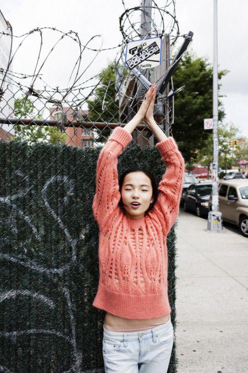 tat-art:    Xiao Wen Ju by Ben Rayner  for Oyster Magazine    xiao wen ju i love you so much.