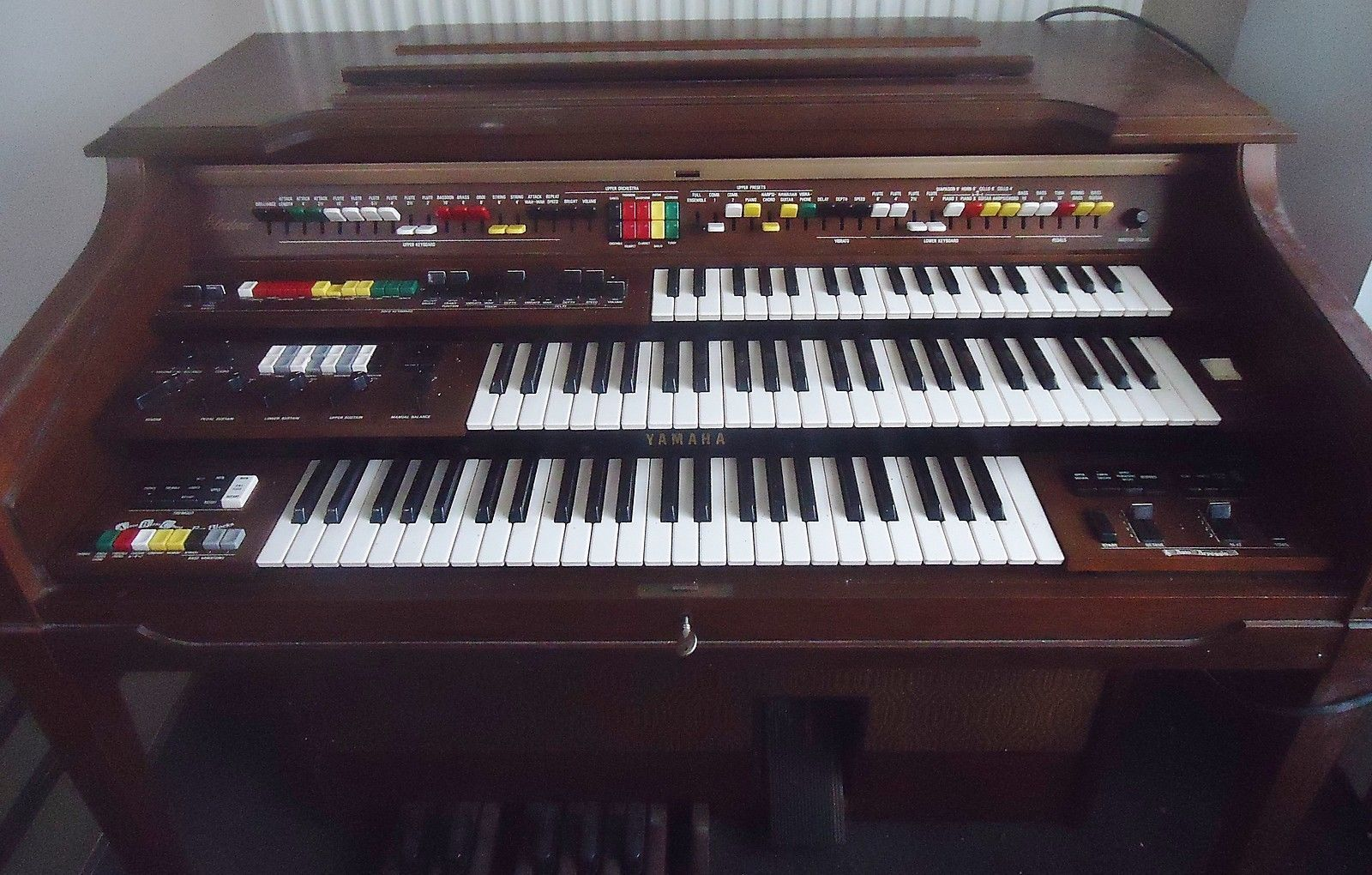 Yamaha electone heimorgel model d 80 ca 1977 http www for Yamaha electone organ models
