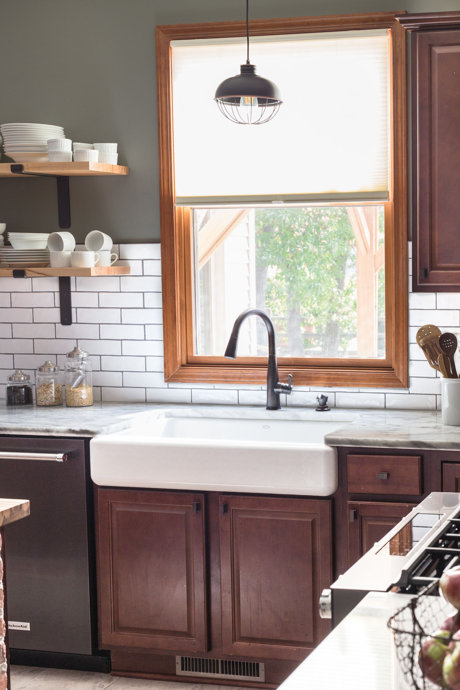 Black Stainless Kitchen Renovation Jelly Toast Blog (With