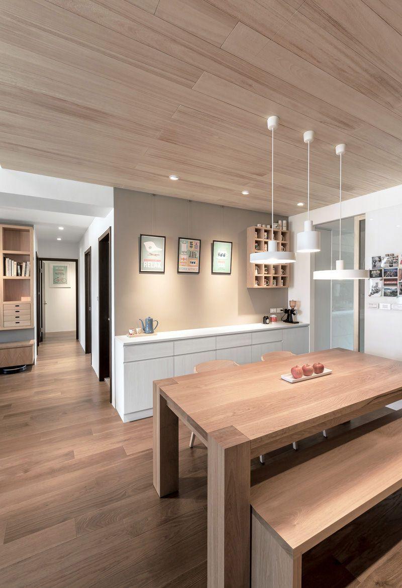 Wooden kitchen with peninsula LIGNUM by Comprex | design MARCONATO ...