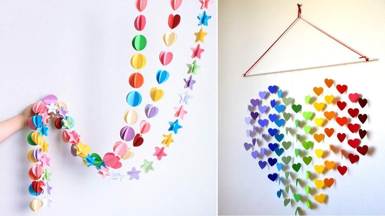 20 Diy Easy Wall Hanging Craft Ideas Tutorials Wall Hanging