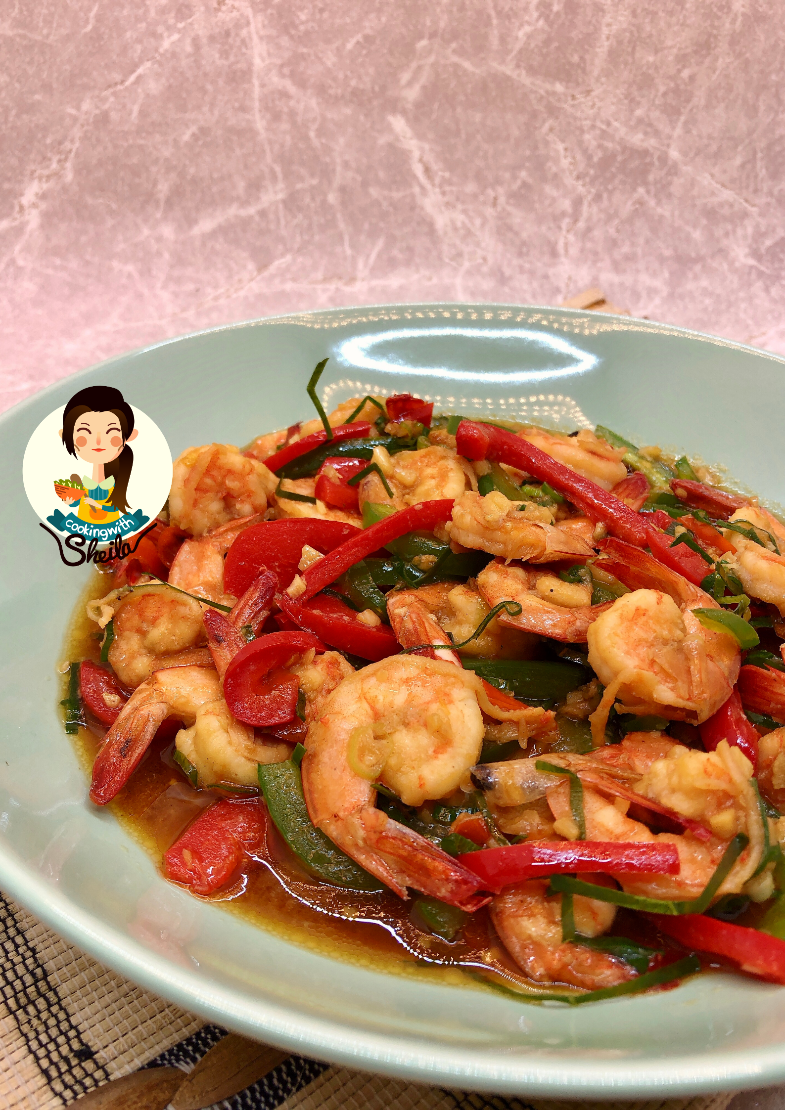 Tumis Udang Pedas Cooking With Sheila Makan Malam Resep Seafood Tumis