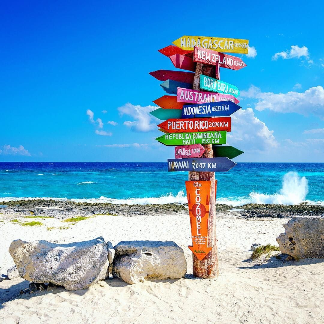 Cozumel quintana rooo mexico travel direction signs for Funnest all inclusive resorts