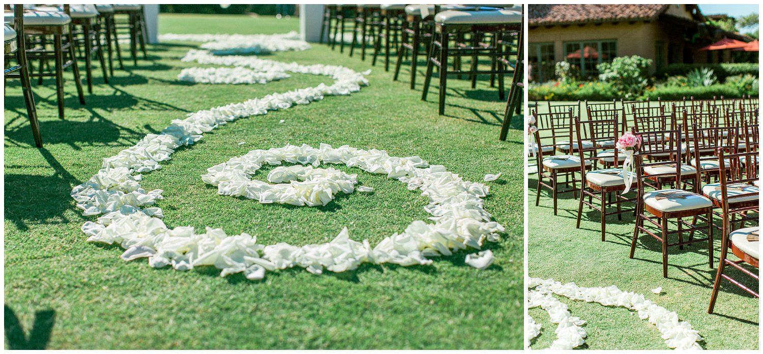 The santaluz country club wedding coordinated by bliss events