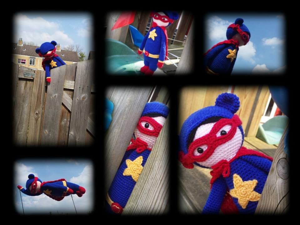 Supergirl mod made by Suzanne de V. / based on a lalylala crochet ...