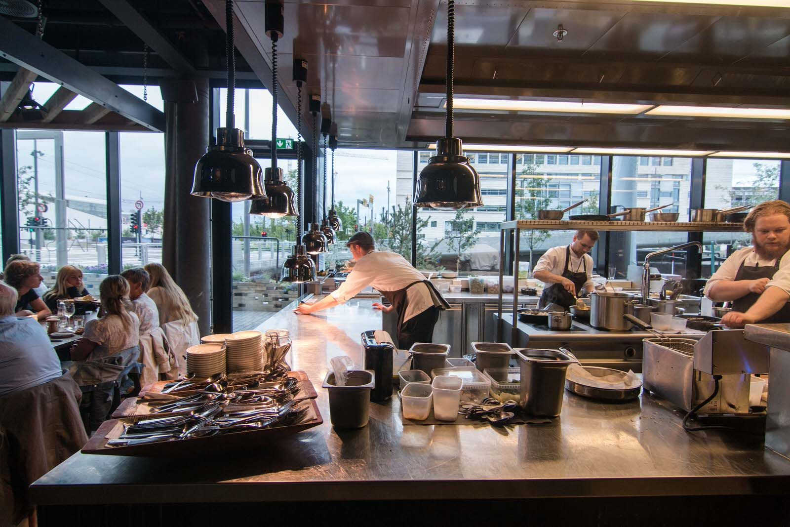 Restaurant Open Kitchen Concept vaaghals nordic cuisine | restaurants, brasseries & cafes