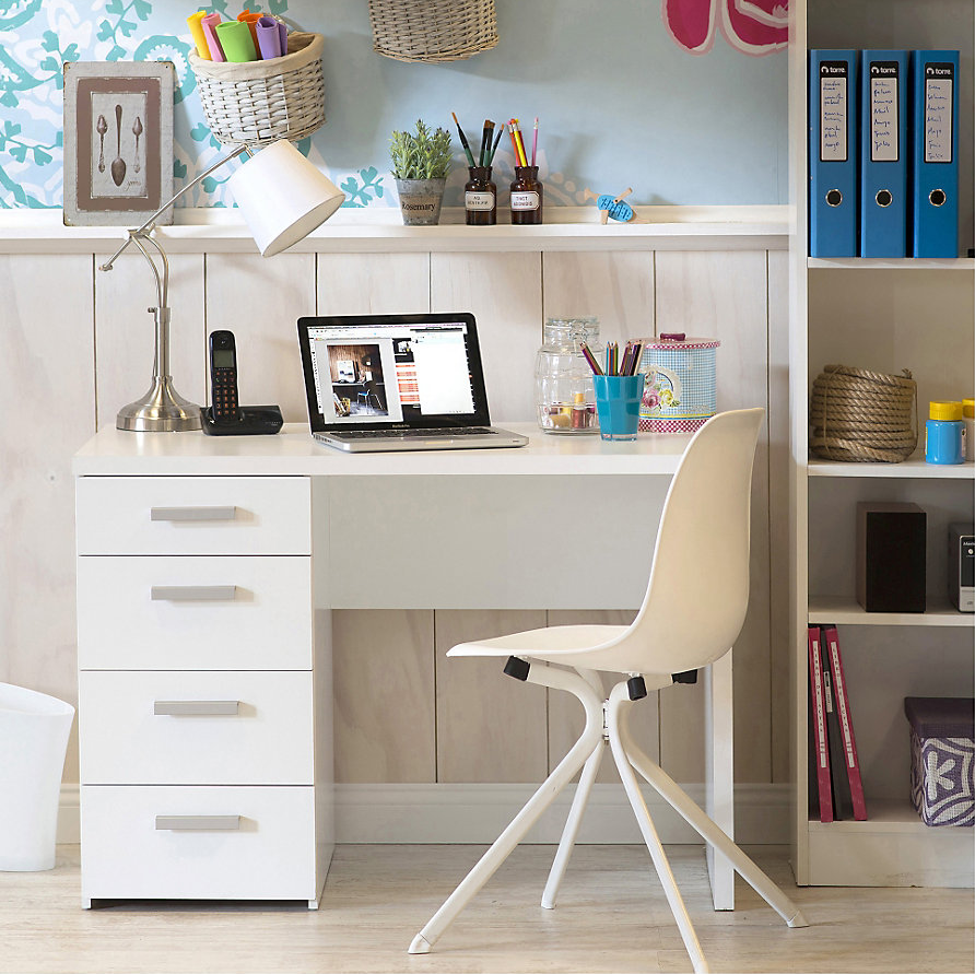 Escritorio ideal para un escritorio minimalista #Sodimac #Homecenter #Decor #Deco #Diseño