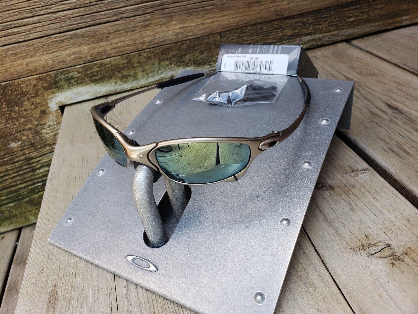 1f612b799739e Oakley Juliet X-Metal Plasma   Emerald Sunglasses Serialized Titanium (eBay  Link)
